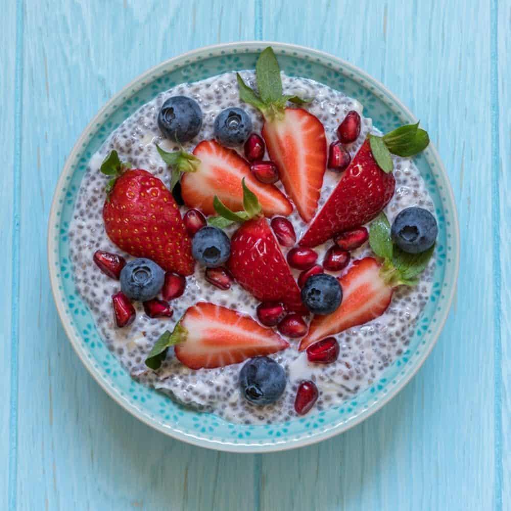 Creamy Low Carb Keto Chia Porridge (Breakfast Recipe)
