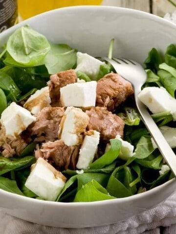 Keto Simple Tuna Salad with Feta