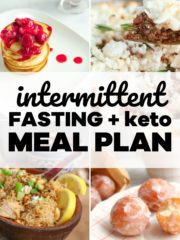 Best keto intermittent fasting meal plan with recipes