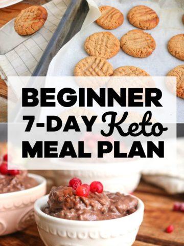 1-Week Keto Meal Plan