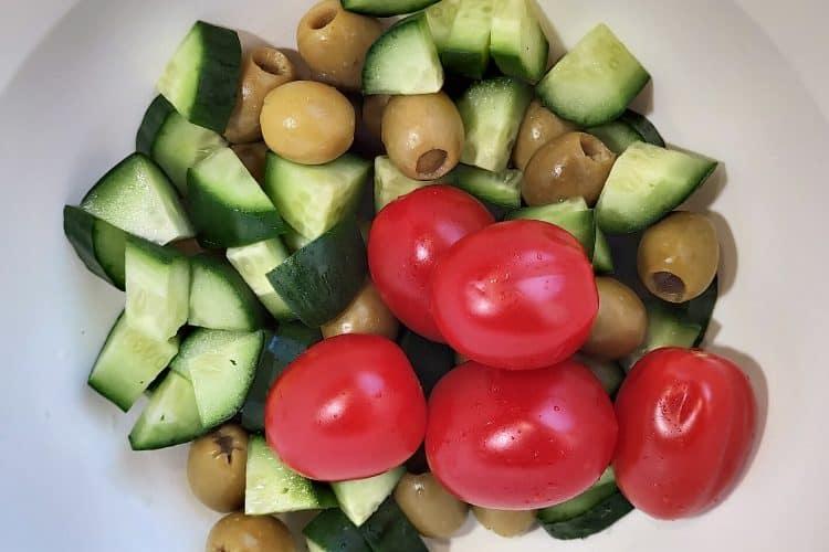 Cucumber And Kalamata Olives
