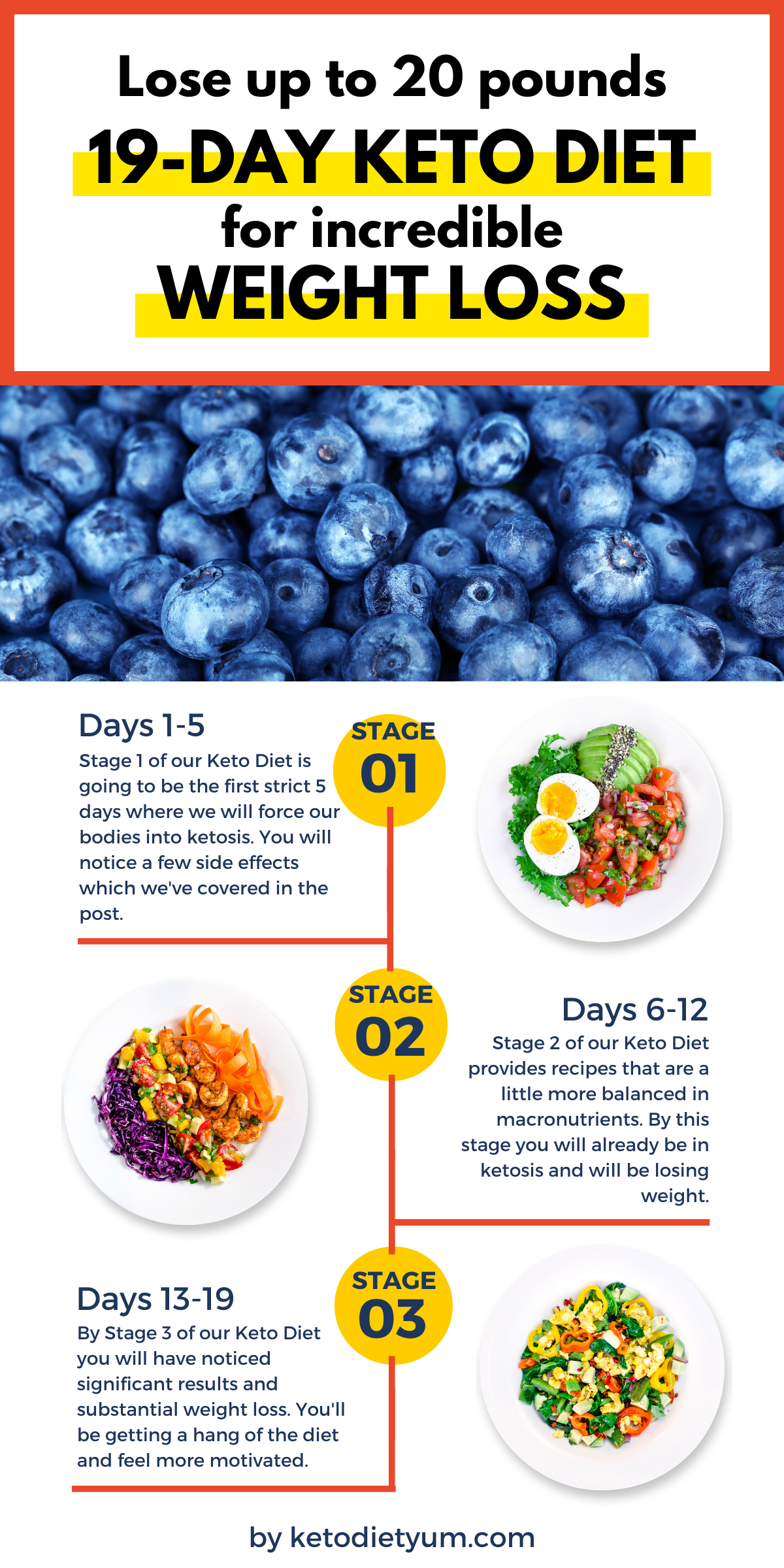 19-Day Keto Diet To Lose 20 Lbs In 3 Weeks. Simple Weight Loss Guide to Get Started With The Ketogenic Diet Plan. #ketodiet #loseweight #ketogenicdiet