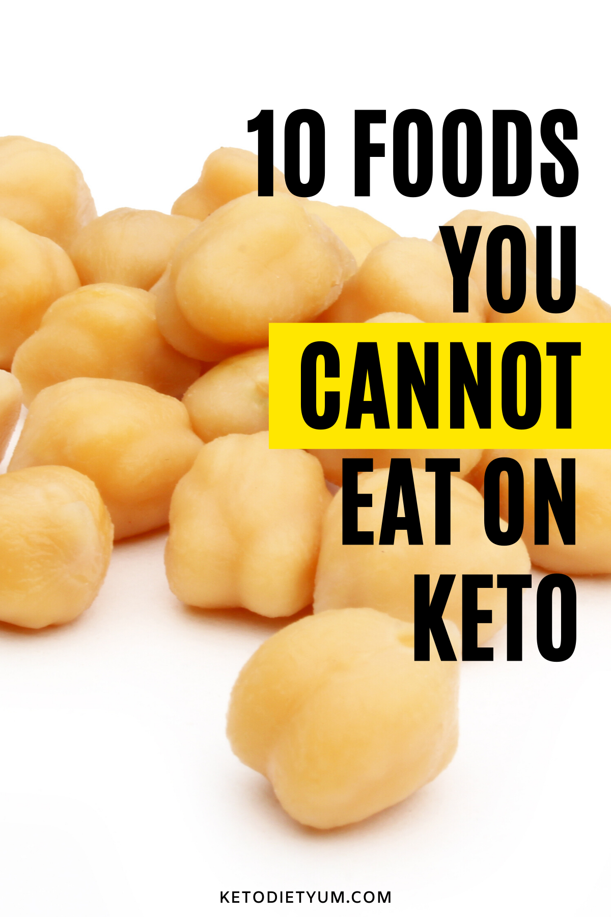 Check out these 10 healthy foods you must avoid on the low-carb keto diet. Don't eat these foods that will kick you out of ketosis! #ketodiet #ketogenic #lowcarb