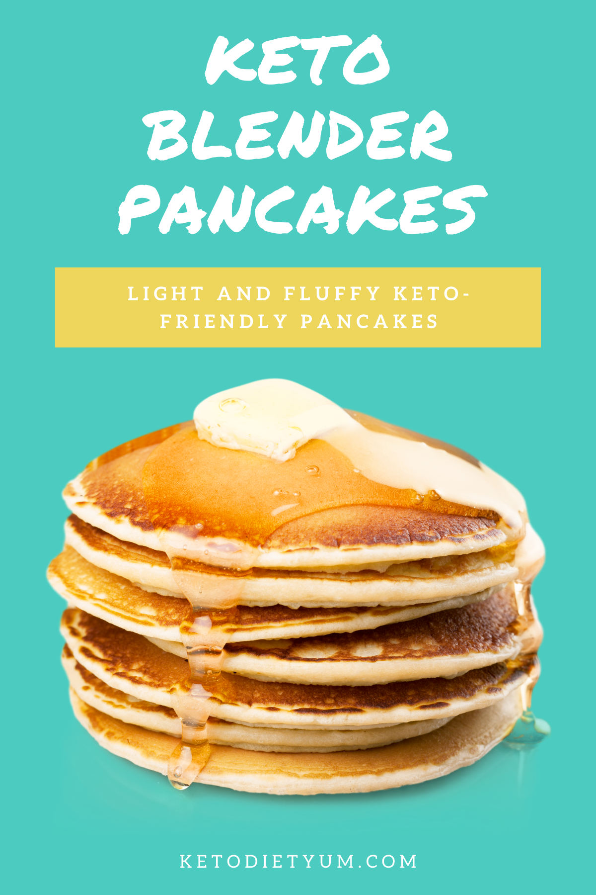 These light and fluffy keto-friendly pancakes are a lot easier to make than you might think. A great low-carb option if you're craving pancakes, give them a go! #ketodiet #ketorecipes #lowcarbrecipes