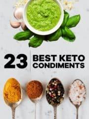23 Best Keto Condiments