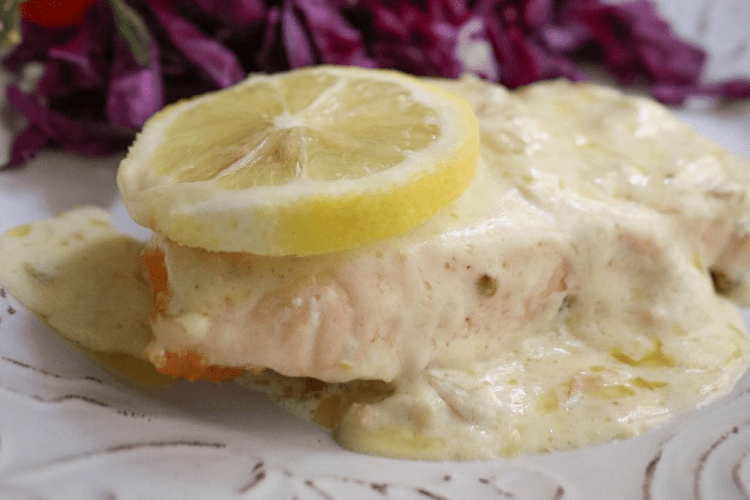 Lemon and Garlic Salmon