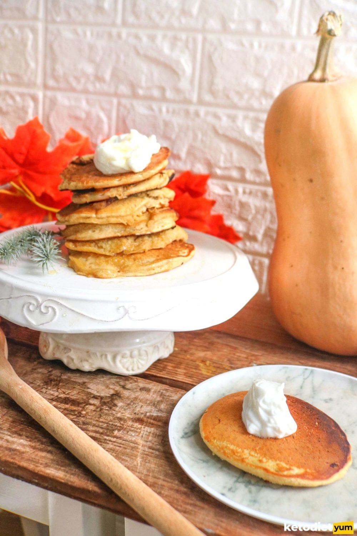 Keto Pumpkin Pancake Recipe