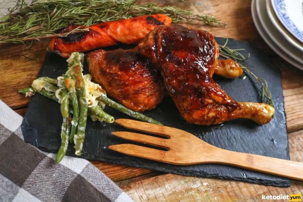 delicious keto chicken dinner recipe