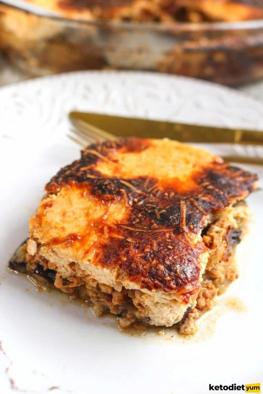 Greek Eggplant Moussaka Recipe