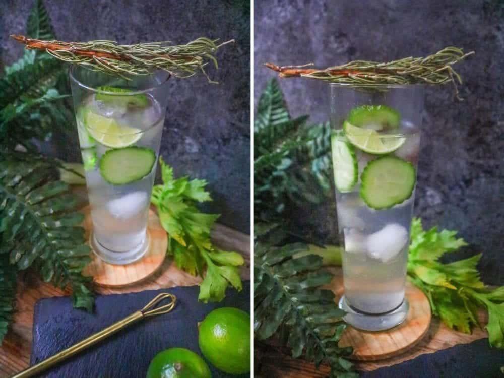 gin cucumber cocktail