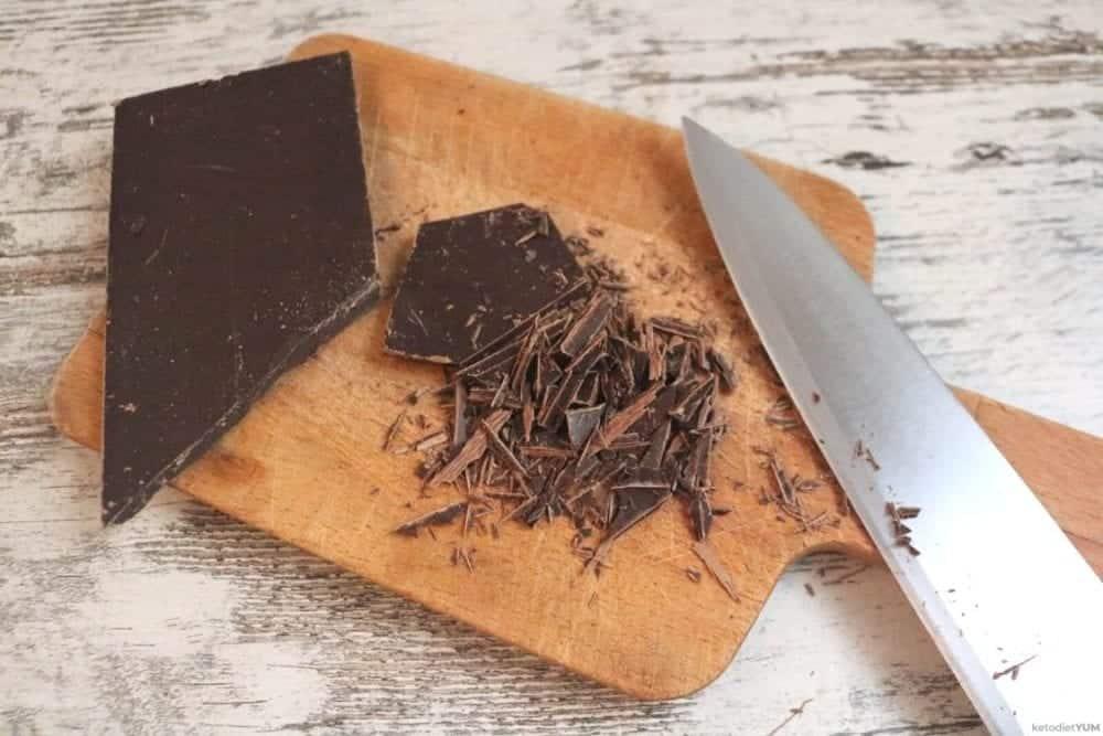 Sugar free ganache chocolate