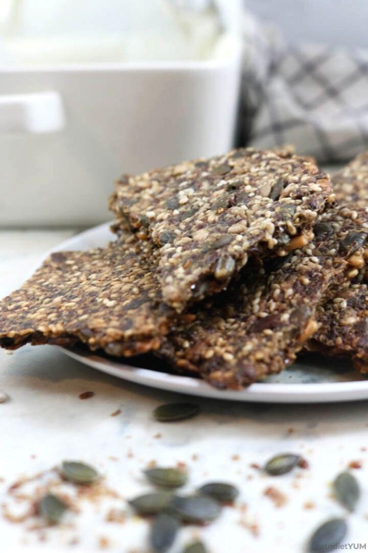 Crispy Keto Crackers