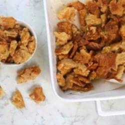Best Parmesan Keto Croutons