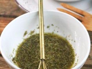 Homemade Keto Salad Dressing