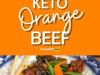 Keto Crispy Orange Beef