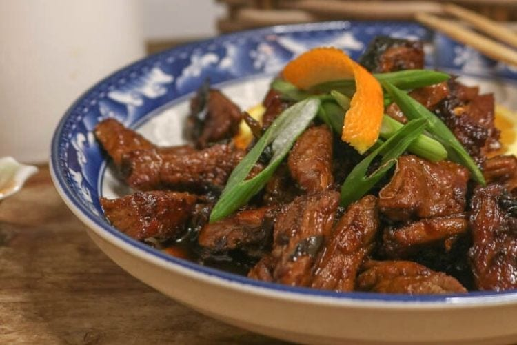 Keto Chinese Orange Beef Recipe