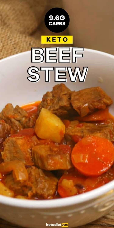 BEST Keto Beef Stew