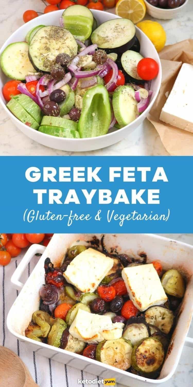 Vegetarian Greek Feta Traybake