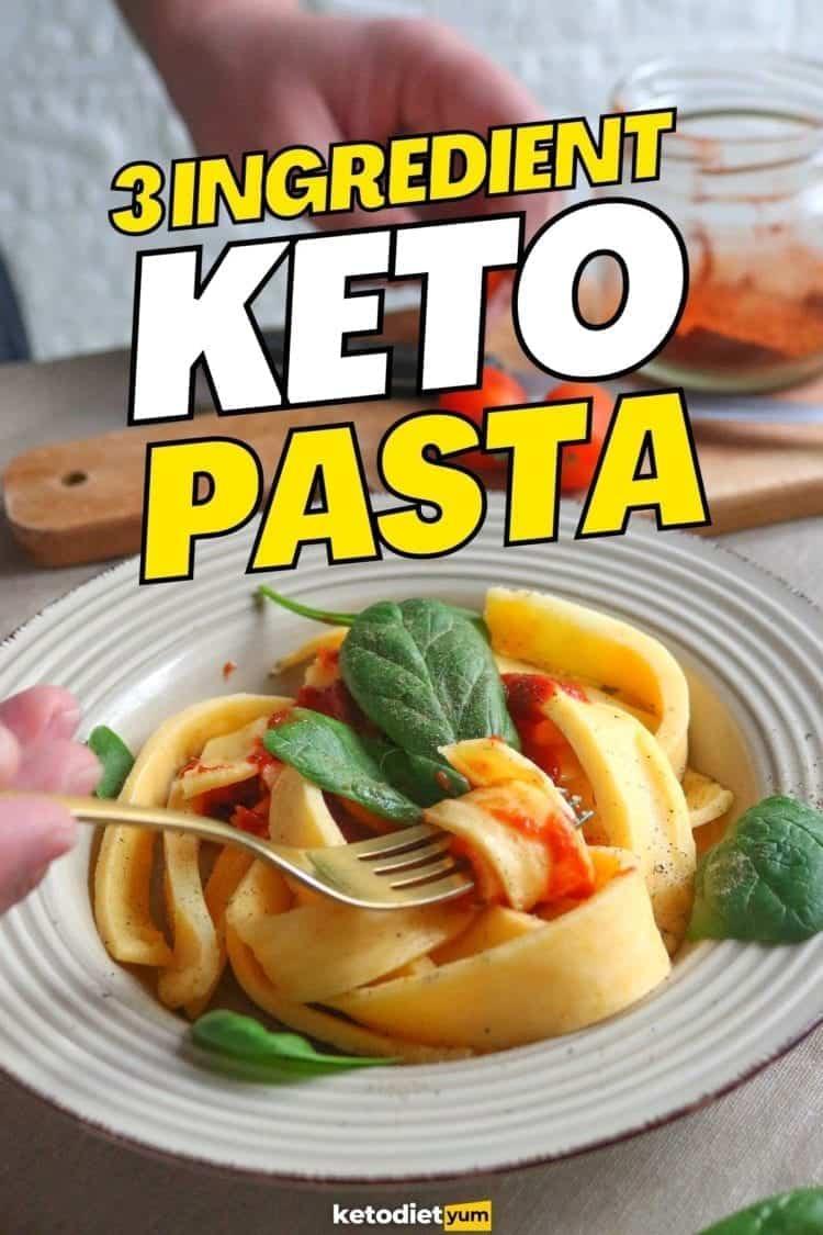 Best 3 Ingredient Keto Pasta