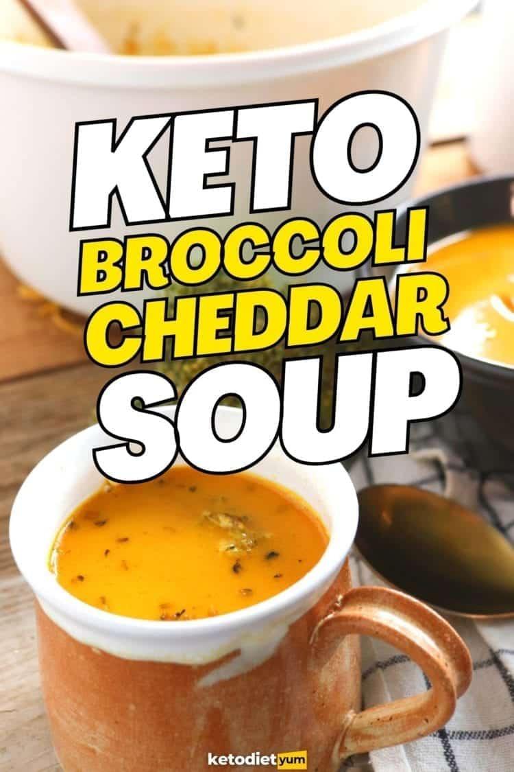 Best Keto Broccoli Cheddar Soup