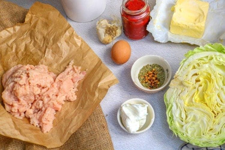 Keto chicken patties ingredients