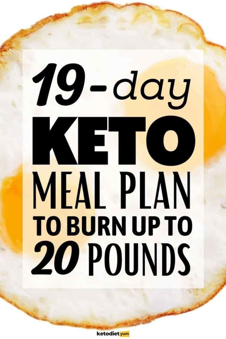 Keto Diet Menu To Lose 20 Pounds