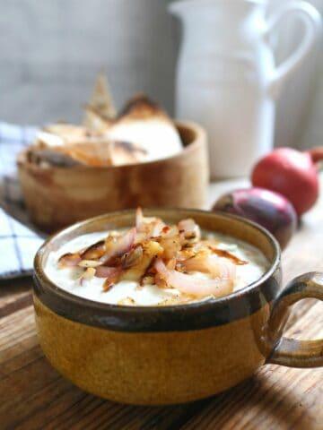Keto French Onion Dip