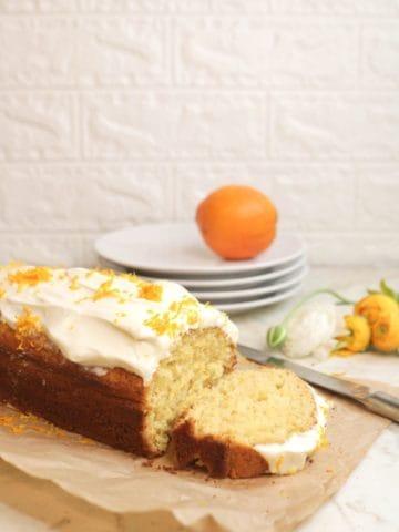 Almond Flour Orange Cake Recipe