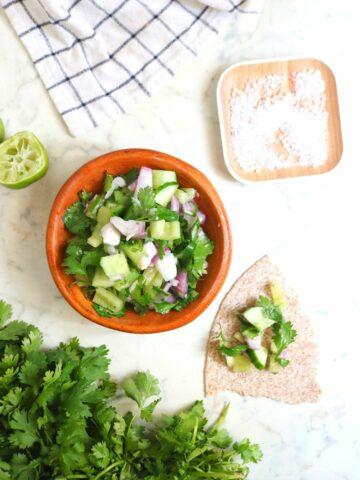 Low Carb Cucumber Salsa Recipe