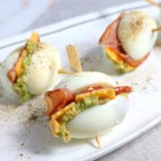 Easy Keto Bacon, Egg and Cheese Sliders