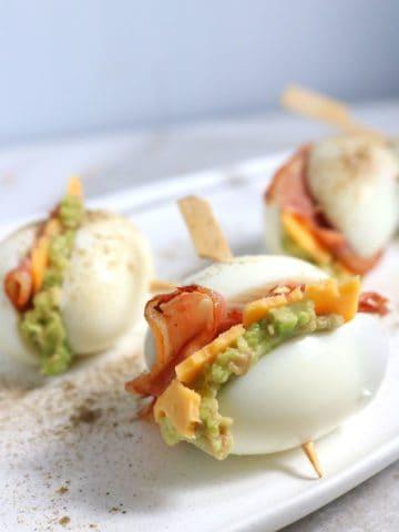 Keto Bacon Egg Cheese Sliders Recipe
