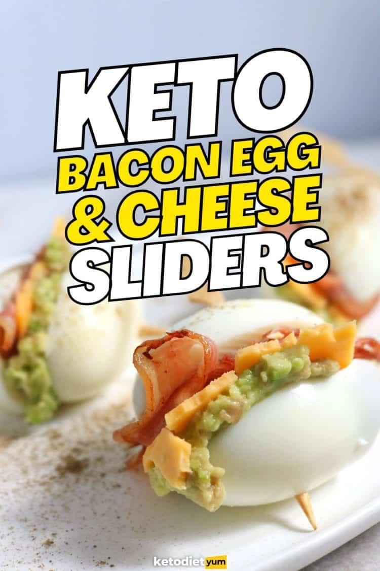 Keto Bacon Egg Sliders