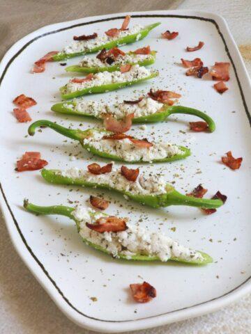 Keto Jalapeno Poppers Recipe