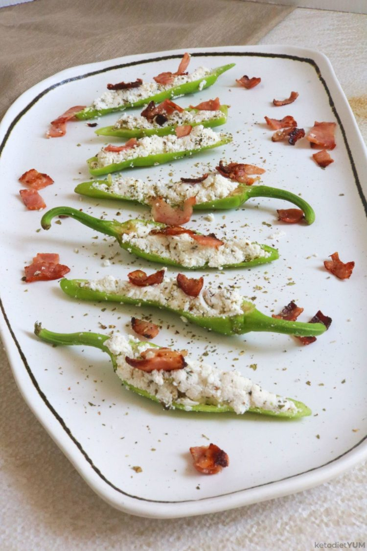 Easy Keto Jalapeno Poppers (Raw or Oven-Baked)