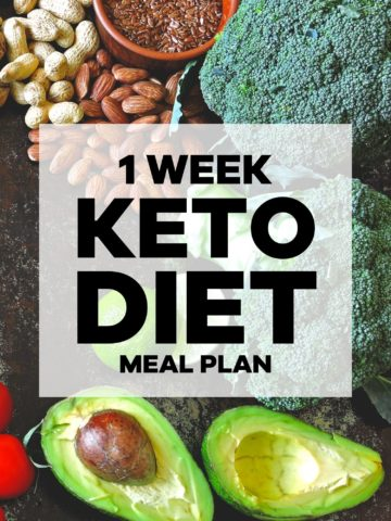 1-Week Keto Diet for Beginners
