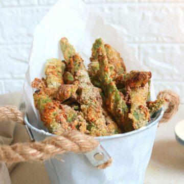 Best Baked Green Bean Fries